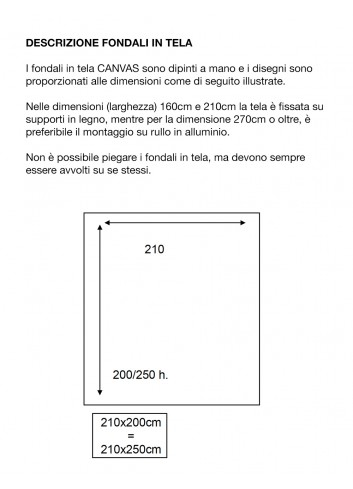 .              D'APONTE FONDALE IN TELA SB 12-313
