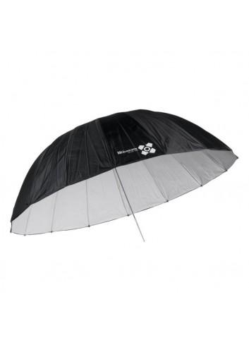 QUADRALITE Ombrello Bianco 185cm Parabolico