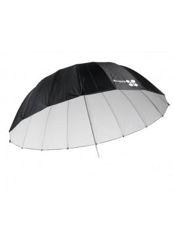QUADRALITE - Ombrello Bianco 150cm parabolico
