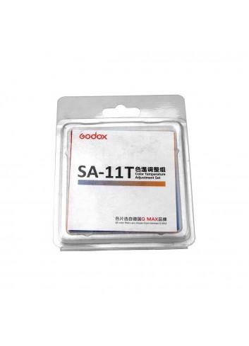 GODOX SA-11T Kit gelatine temperatura colore per Godox S30 Illuminatore LED