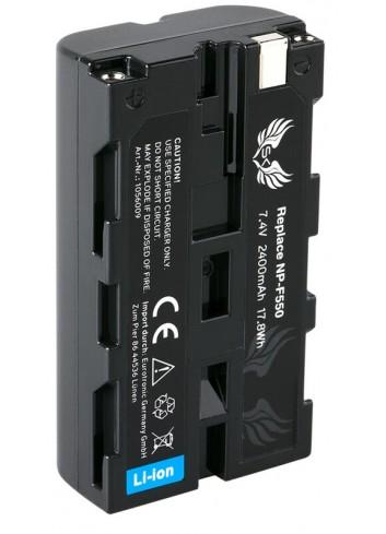 BLUMAX Sony NP-F550 HQ Batteria Compatibile