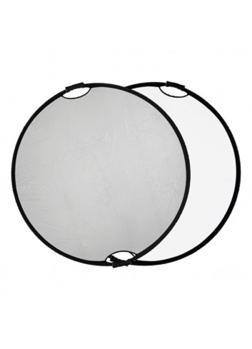 QUADRALITE Pannello riflettente Argento/Bianco 110cm con maniglie