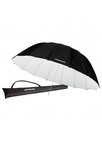 WESTCOTT Ombrello Parabolico riflettente bianco 210cm