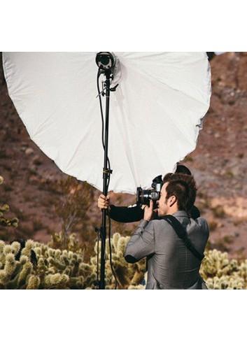 WESTCOTT Telo Diffusore per ombrello parabolico riflettente bianco 210cm