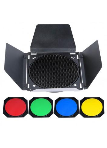 BD-04 GODOX Barndoor Kit (Alette + Filtri)