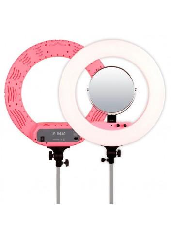 CARUBA Illuminatore Led anulare 45cm - Rosa