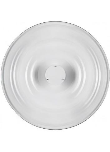 QUADRALITE Parabola Wave Beauty Dish 55cm Bianca (senza anello)