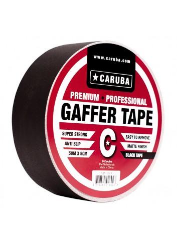 CARUBA Gaffer Nastro nero 50mt x 5cm