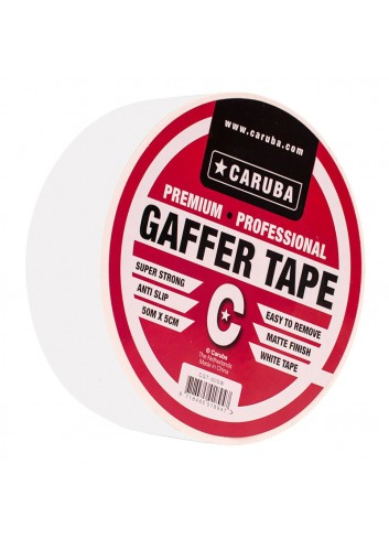 CARUBA Gaffer Nastro bianco 50mt x 5cm