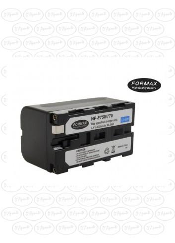 FORMAX Batteria NP-F750 per Sony