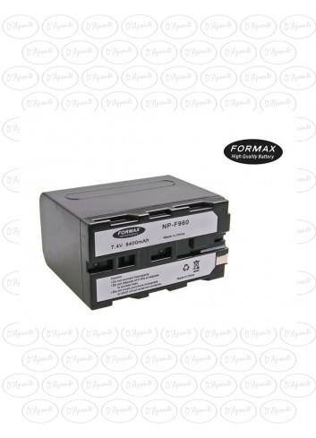 FORMAX Batteria NP-F970 per Sony