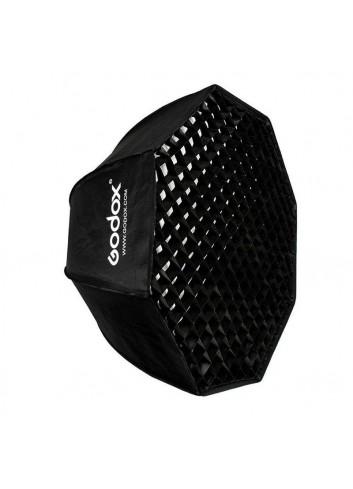 GODOX Softbox Octa 120 con griglia, Attacco Bowens