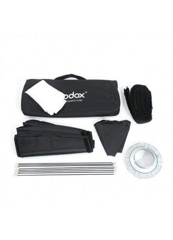 GODOX SB-FW120 Softbox Octa 120 con griglia, Attacco Bowens