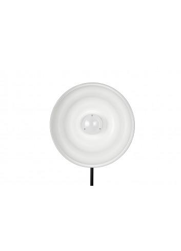 QUADRALITE Parabola Wave Beauty Dish 42cm Bianca (senza anello)