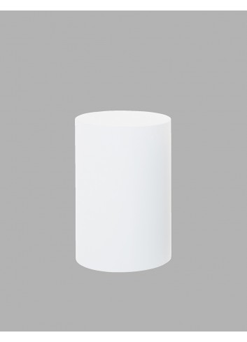 D'APONTE POSING PROPS Cilindro Bianco 46x70(h)cm