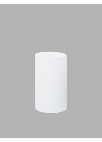 D'APONTE POSING PROPS Cilindro Bianco 36x62(h)cm