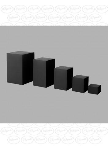 D'APONTE POSING PROPS Cubi Neri Kit da 5