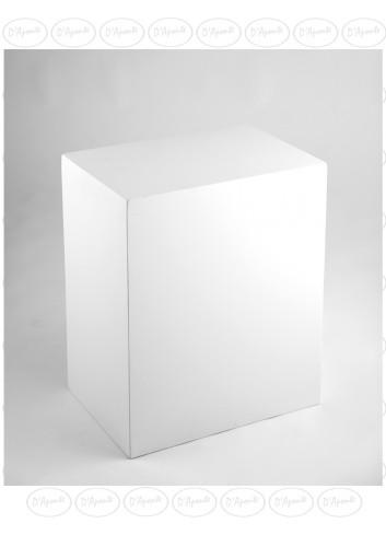 D'APONTE POSING PROPS Cubo Bianco 50x35x60(h)cm