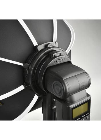 SMDV Speedbox-Flip 24G con Anello Adattatore per Profoto A1 incluso