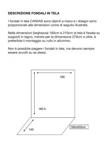 D'APONTE FONDALE IN TELA KS 12-736