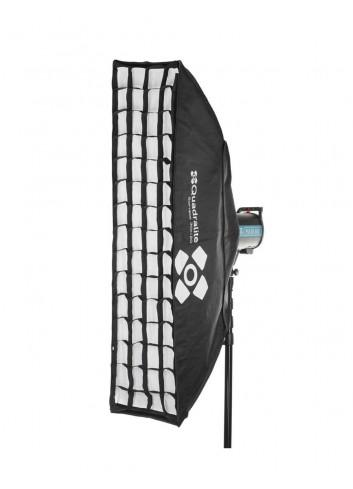 QUADRALITE Softbox  30x120cm Griglia