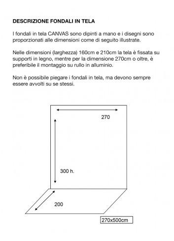 D'APONTE FONDALE IN VINILE PRTV 16-800
