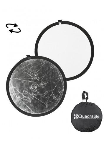 QUADRALITE Pannello Riflettente Argento/Bianco  60cm