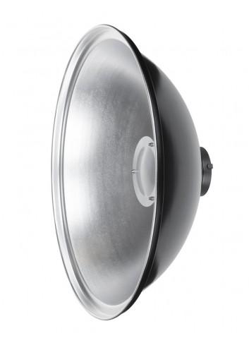 QUADRALITE Parabola Beauty Dish 55cm Argento