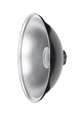 QUADRALITE Parabola Beauty Dish 42cm Argento