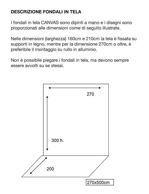D'APONTE FONDALE IN VINILE PRTV 16-834
