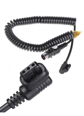 QUADRALITE Reporter 360 PowerPack 45 Cavo Alimentazione Canon equivalente Godox Cx