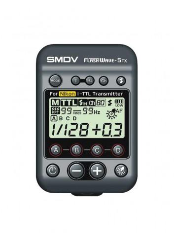 SMDV FlashWave 5 TX TTL Nikon