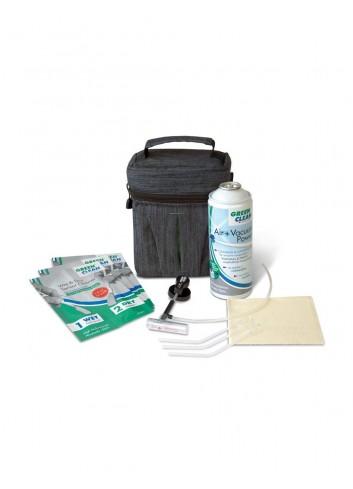 GREEN CLEAN  Kit Pulizia Sensori Formato Ridotto con Custodia