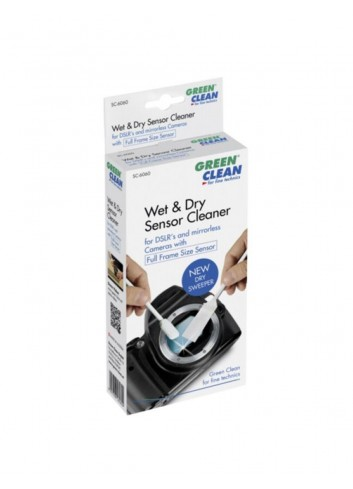 GREEN CLEAN Wet Foam & New Dry Sweeper Formato Pieno, 4 Pezzi