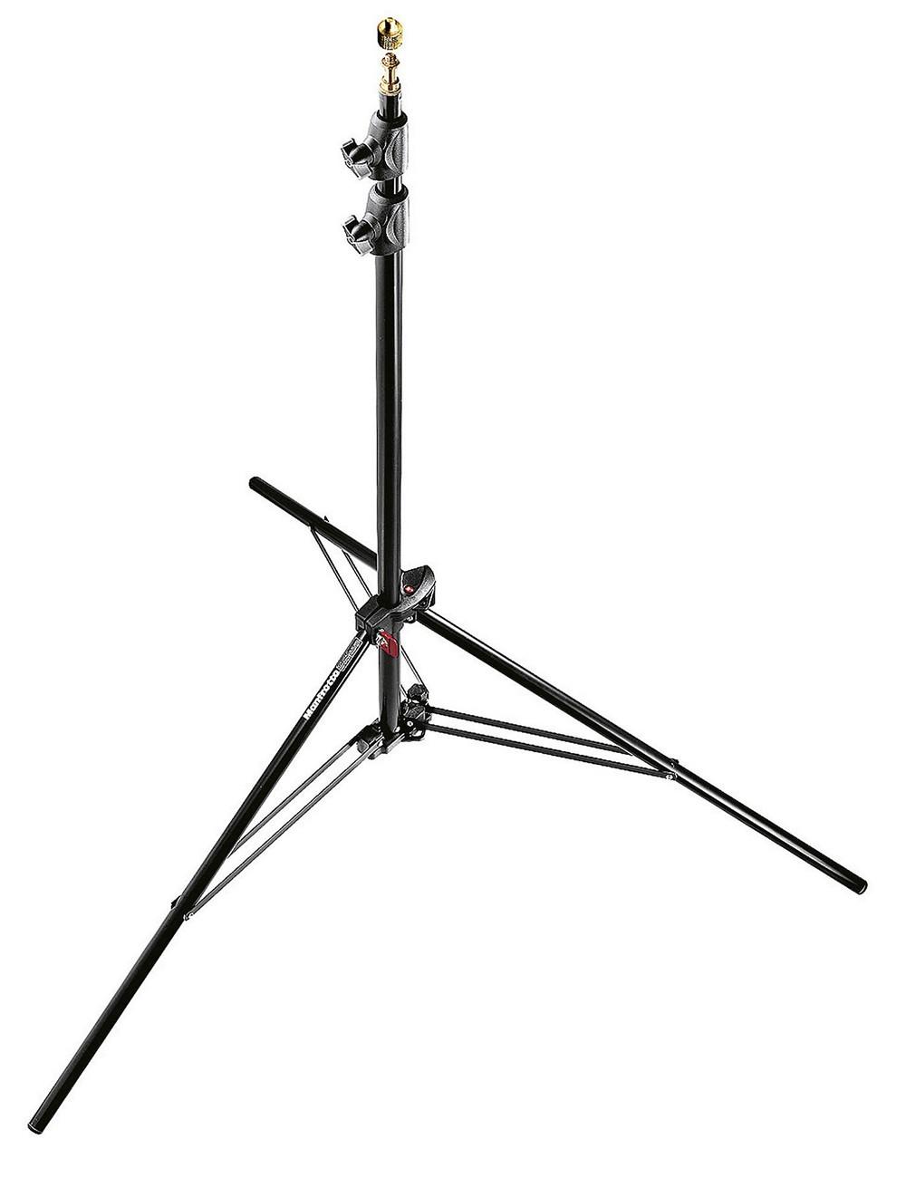 MANFROTTO Stativo Compact Alu Nero Pneumatico - Kit 3 Stativi
