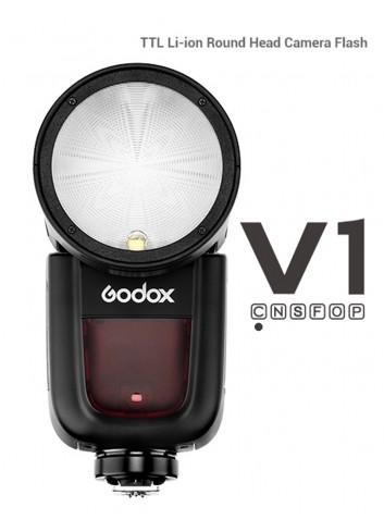 GODOX V1C Flash a Testa Tonda per Canon