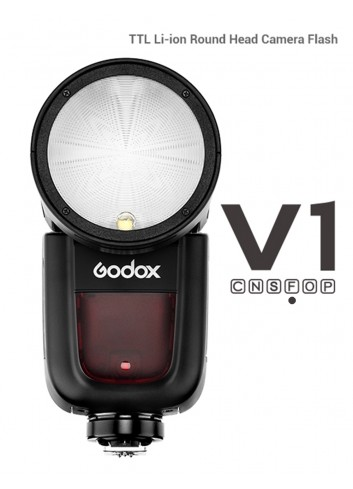 GODOX V1F Flash a Testa Tonda per Fuji X