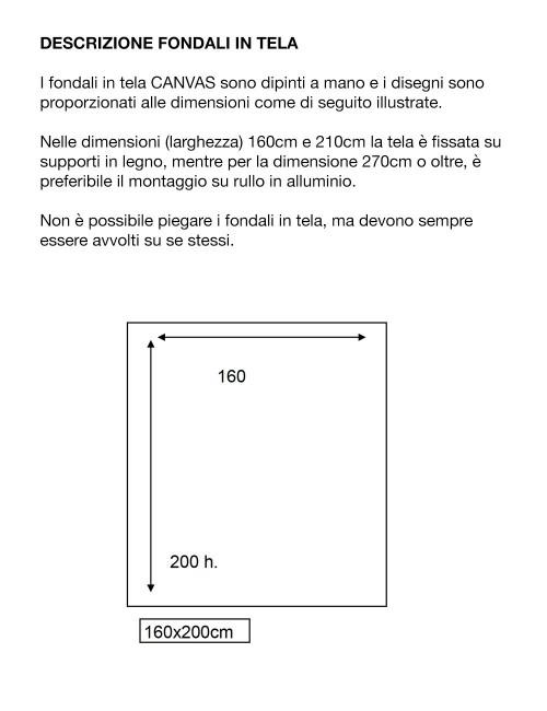 .                                              D'APONTE FONDALE IN TELA PR 12-949