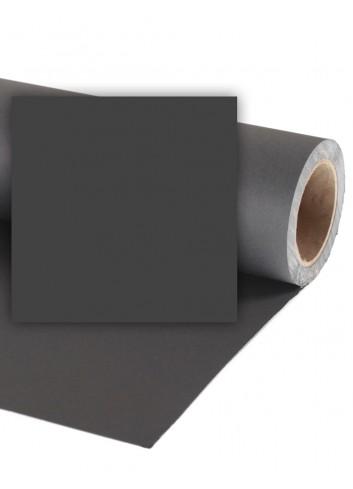 COLORAMA Fondale in Carta 1,36x11m Black