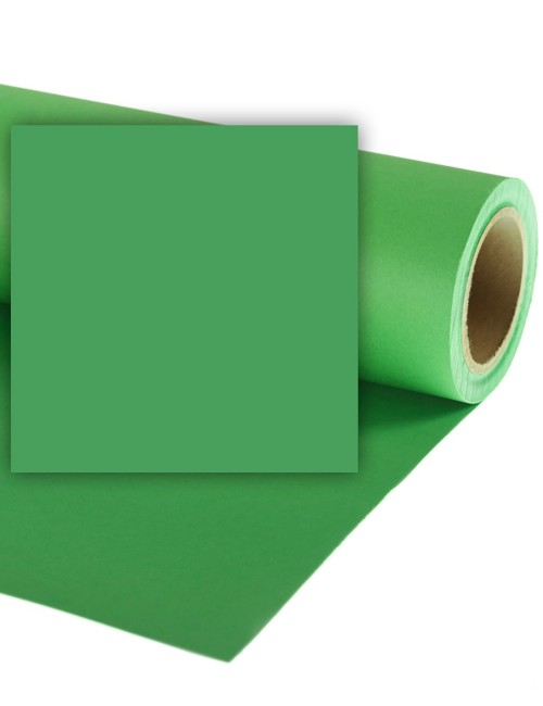 Fondale in Carta COLORAMA 1,36x11m Chromagreen