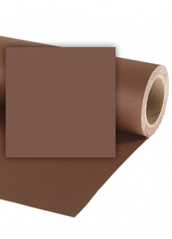 Fondale in Carta COLORAMA 1,36x11m Peat Brown